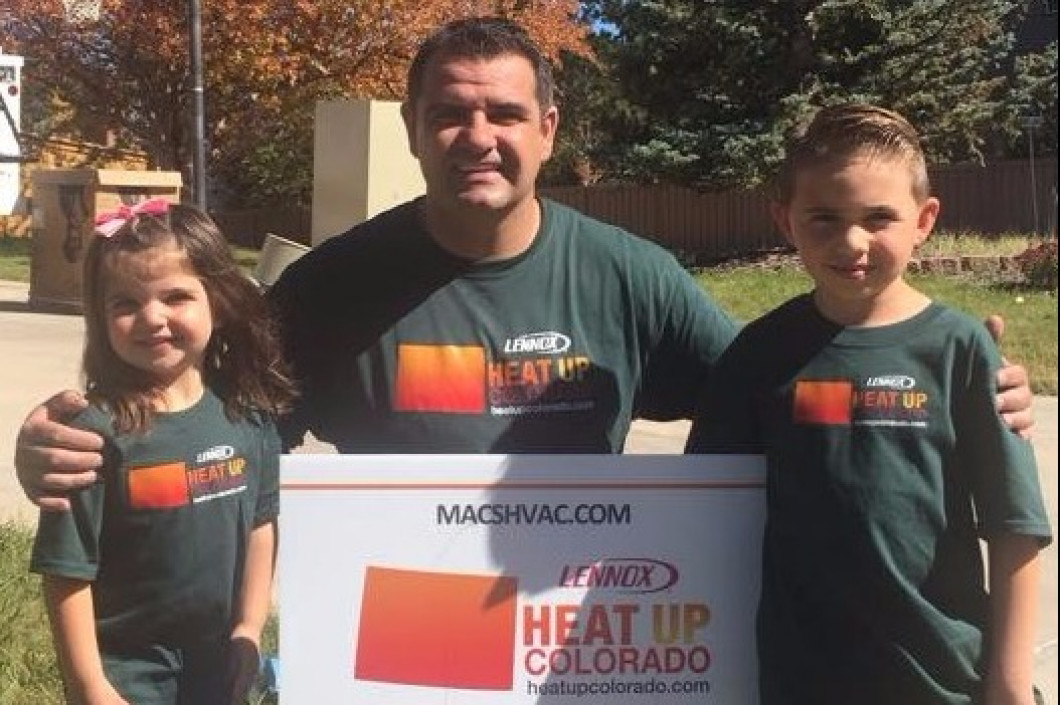We are so proud to be able to give back to our community via Heat Up Colorado